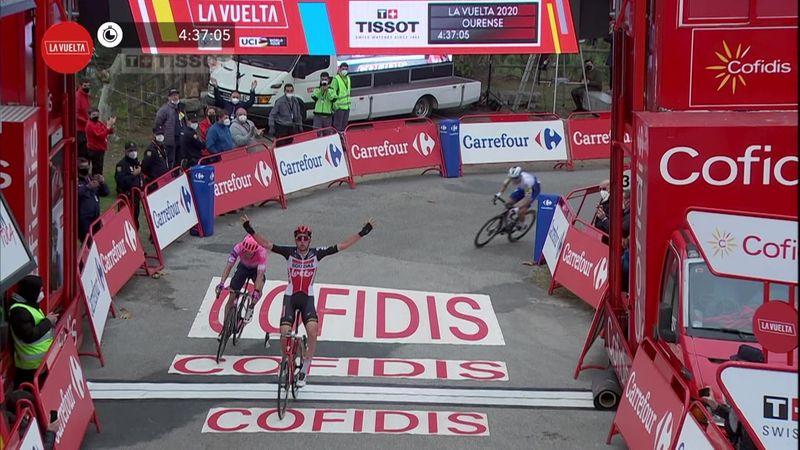 Победа Велленса на 14-м этапе