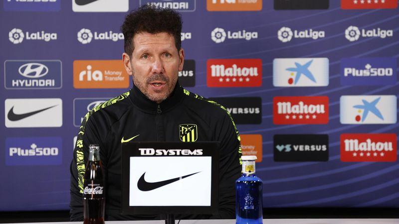 """Simeone: """"Es una oportunidad para mostrarse, gritar que quieren jugar"""""""