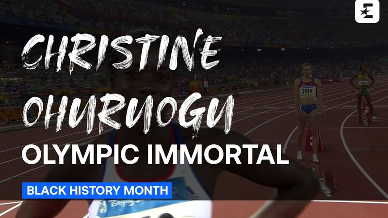 Black History Month: Christine Ohuruogu, Olympic Immortal