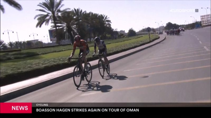 Boasson Hagen wins Stage 5 of Tour of Oman