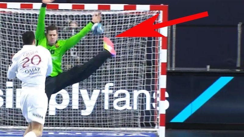 Wie geht das denn? Barça-Keeper zeigt unfassbaren Reflex