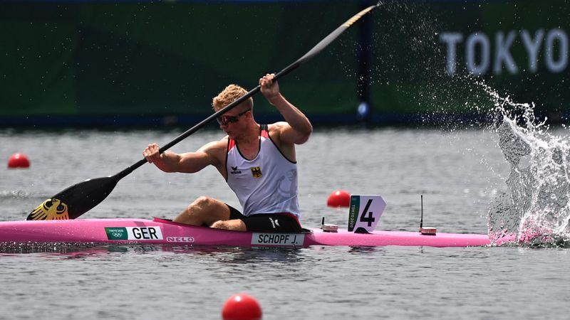 Kayak-Einer: Schopf mit überlegenem Vorlaufsieg in Tokio