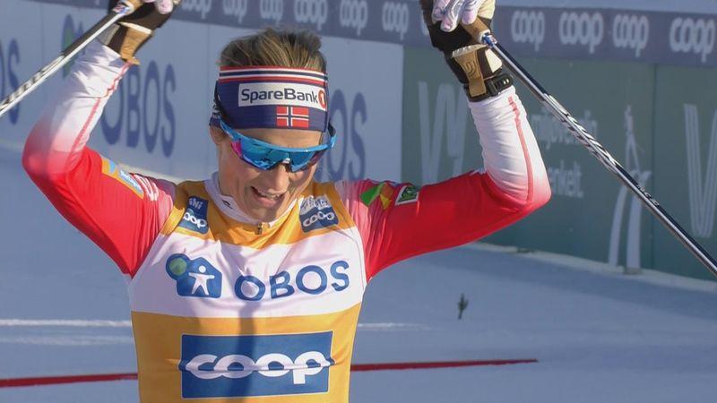 Unbeatable Johaug headlines Norwegian domination in Östersund