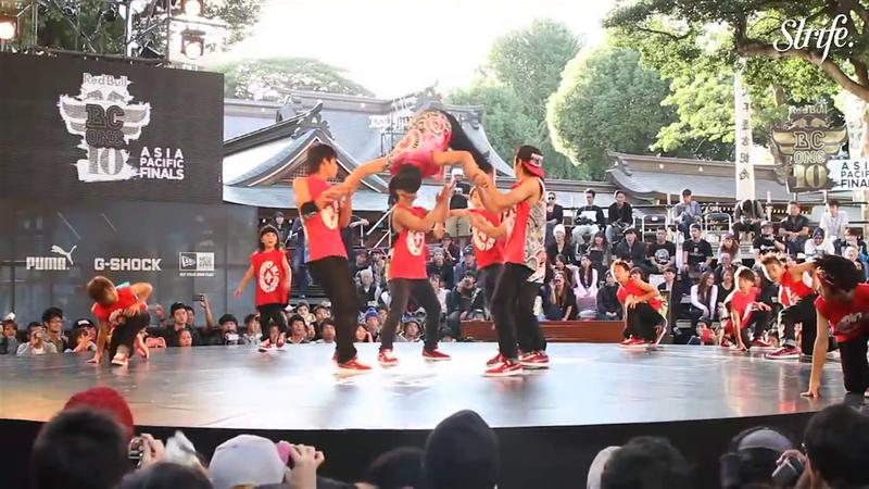 Espectacular demostración ninja