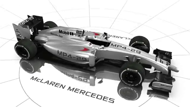 McLaren явил миру MP4-29