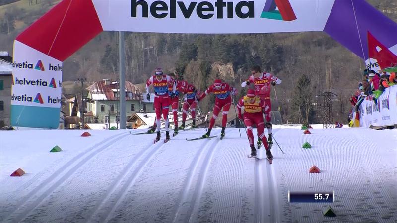 Klaebo, victorie la sprint în Turul de schi