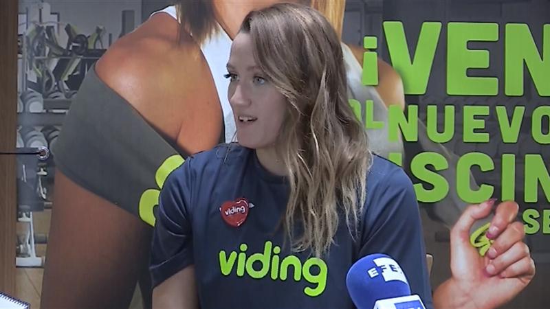 """Mireia Belmonte """"muy ilusionada"""" ante sus cuartos Juegos Olímpicos"""