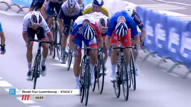 Tour de Luxemburgo (2ª etapa): Arnaud Démare no tuvo rival al esprint