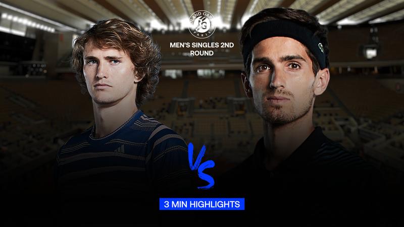 Highlights: Alexander Zverev battles back to overcome Pierre-Hugues Herbert