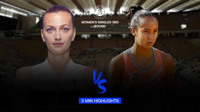 Highlights   Petra Kvitova - Leylah Fernandez