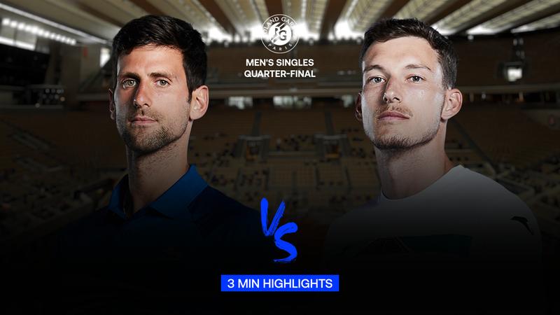 Highlights | Novak Djokovic - Pablo Carreno Busta
