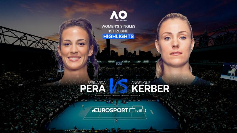 Highlights | 0:6 im ersten Satz: Kerber geht gegen Pera unter