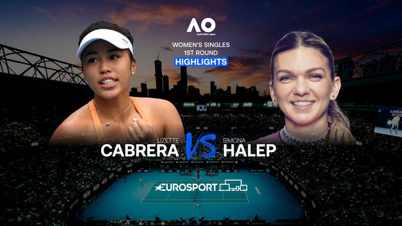 Avustralya Açık 2021: Birinci Tur: Lizette Cabrera - Simona Halep maçı özeti