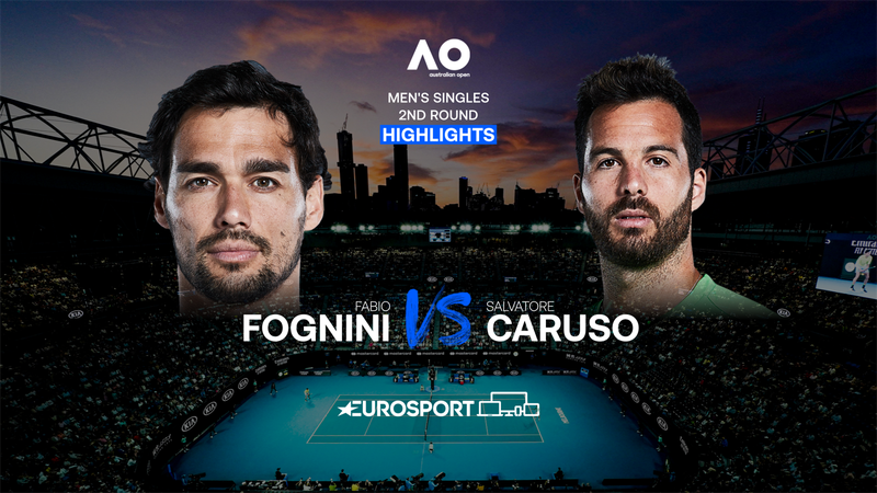 Highlights | Fabio Fognini - Salvatore Caruso