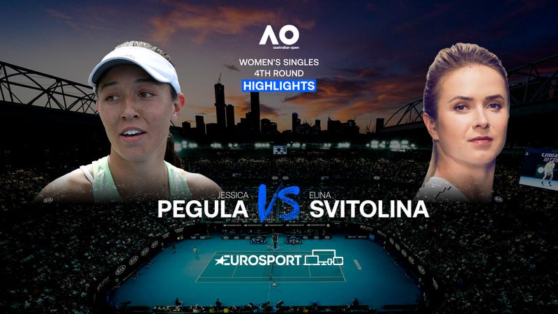 Highlights: Pegula slog overraskende Svitolina ud af Australian Open