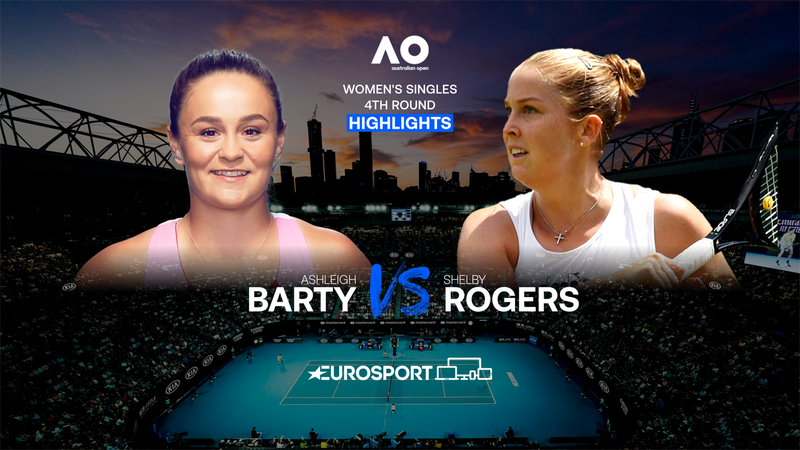 Highlights | Ashleigh Barty - Shelby Rogers