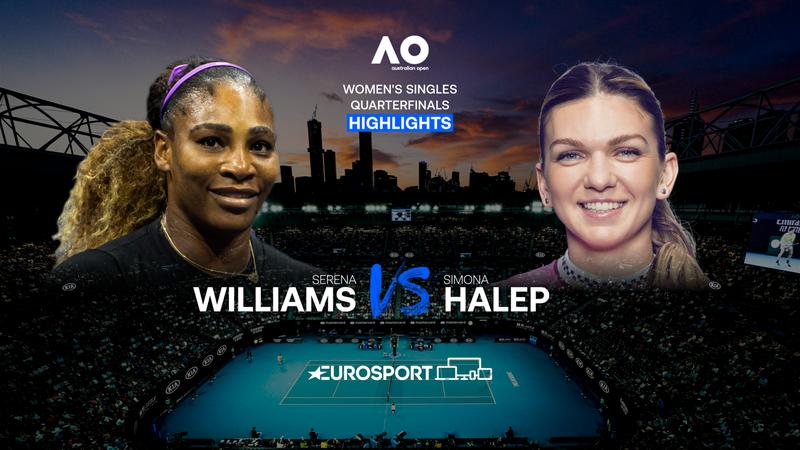 Highlights   Serena Williams - Simona Halep