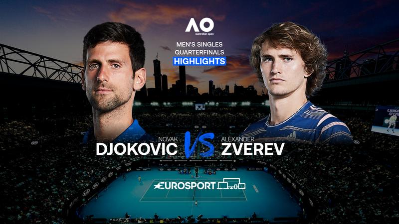 Highlights   Novak Djokovic - Alexander Zverev