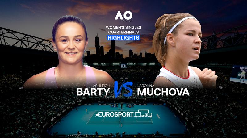 Highlights   Ashleigh Barty - Karolina Muchova