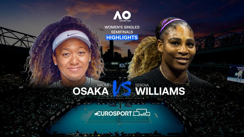 Highlights: Naomi Osaka er klar til finalen efter sikker sejr over Serena Williams