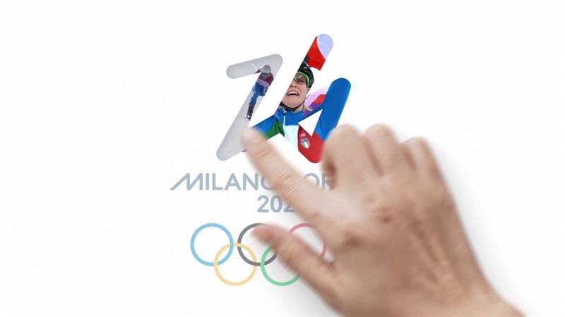 """""""Futura"""" logo di Milano-Cortina 2026: il video della presentazione"""
