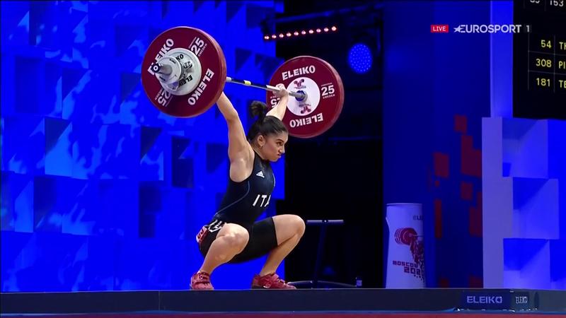 Giulia Imperio solleva 81kg ed è bronzo europeo nello strappo
