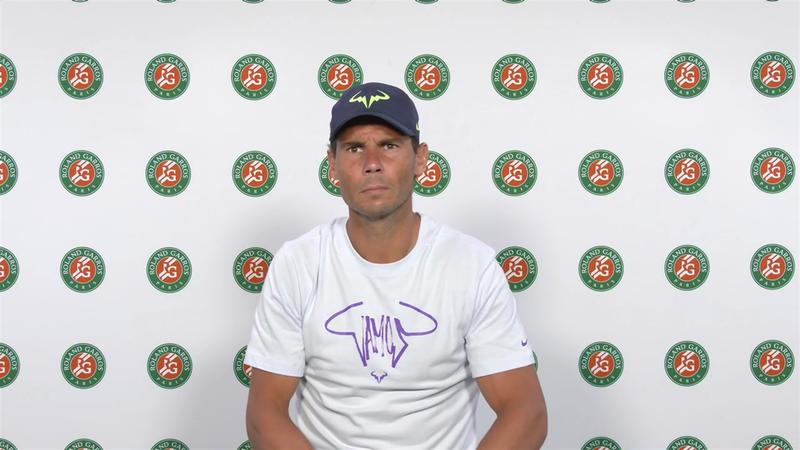 """Rafa Nadal, en Eurosport: """"Solo pienso en hacer una buena semifinal"""""""