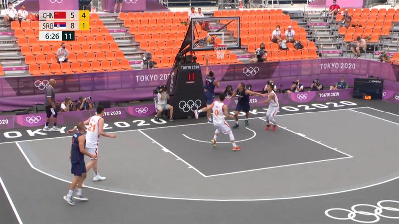 3x3 Basketball Session 1 - Tokyo 2020 – OL-høydepunkter