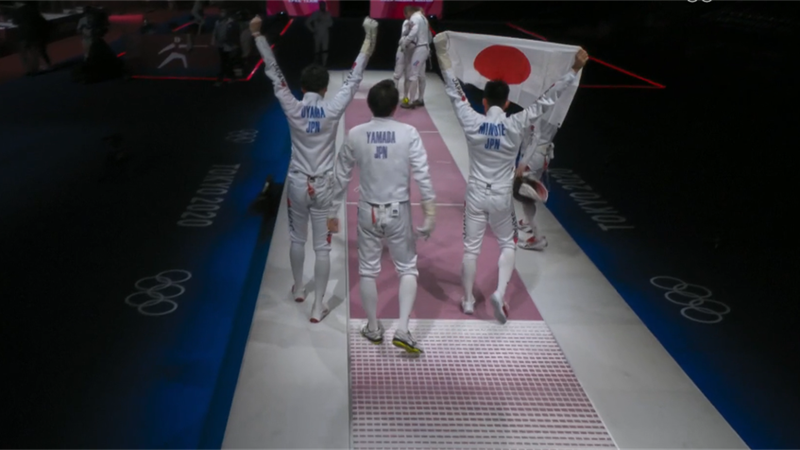 Sensations-Gold perfekt! Japan erstmals Olympiasieger im Degenfechten