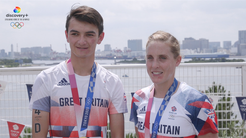 Tokyo 2020 - Alex Yee and Jess Learmonth on their mixed Triathlon Olympic golds