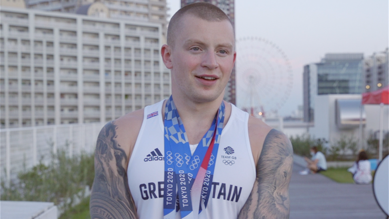 Tokyo 2020 - Adam Peaty exclusive interview on Tokyo 2020, family life and Paris 2024