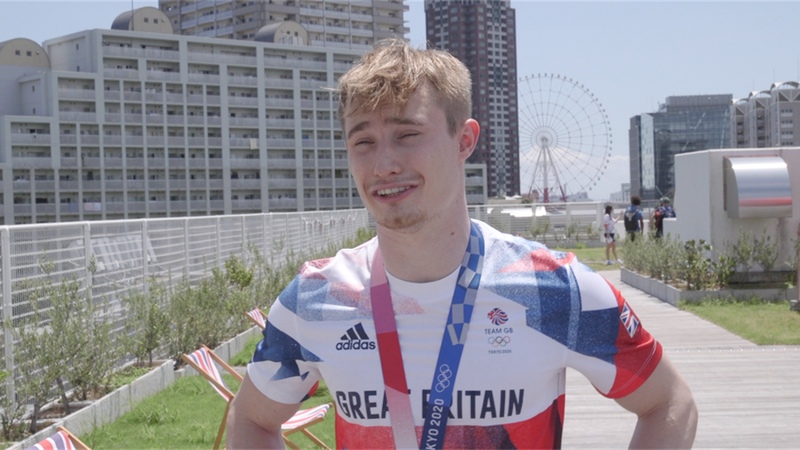 Tokyo 2020 - Jack Laugher on bronze medal, Simone Biles and importance of mental health in sport