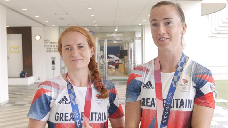 Tokyo 2020 - Maddie Hinch & Sarah Jones reflect on GB's hockey bronze medals