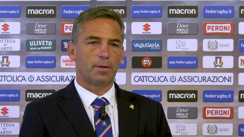 """Smith: """"Voglio continuare a far crescere il rugby italiano"""""""