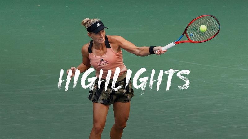 Hoogtepunten Kerber - Kalinina - US Open Hoogtepunten