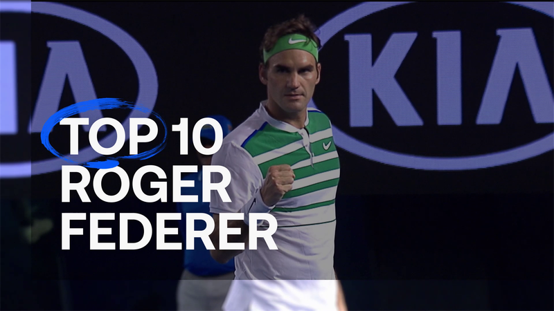 Prepare to be amazed: Federer's Top 10 shots at Australian Open and Roland Garros