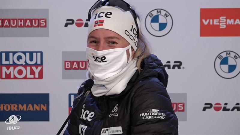Biatlon Dünya Kupası Hochfilzen: Tiril Eckhoff Noel planını açıkladı