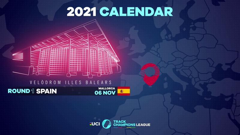 Il 6 novembre parte la UCI Track Champions League: prima tappa a Maiorca