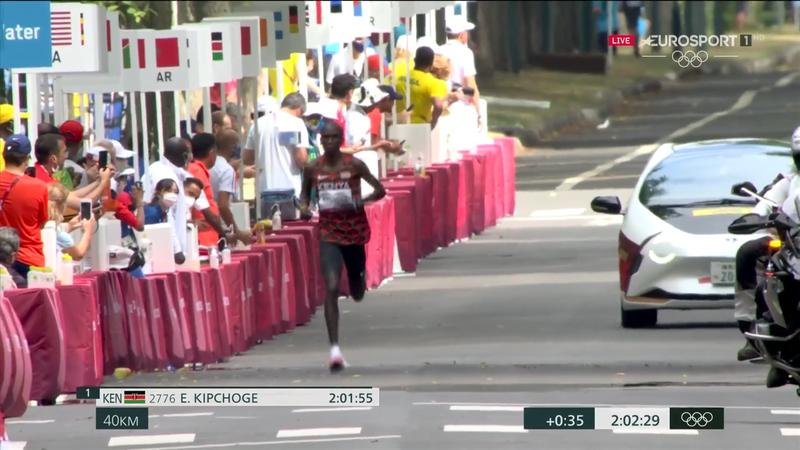 Jocurile Olimpice: Clasamentul maratoniștilor la kilometrul 40 la Tokyo 2020
