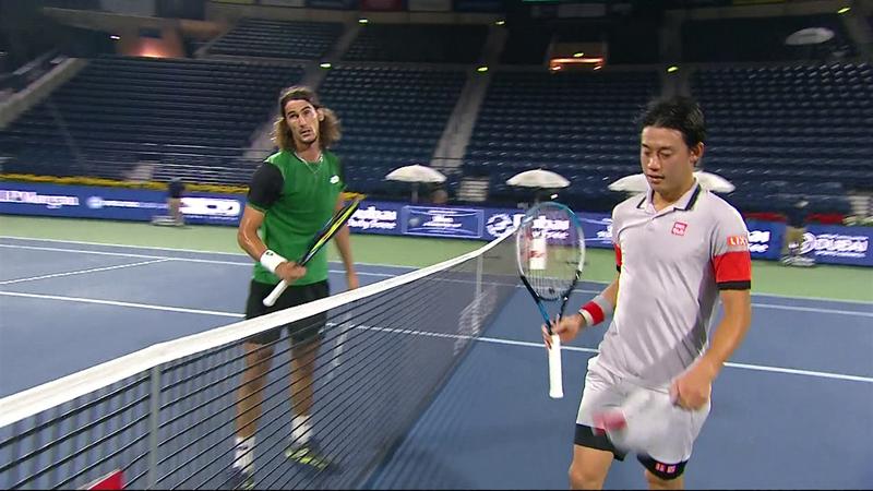 ATP Dubai | Rezumatul partidei dintre Lloyd Harris și Kei Nishikori