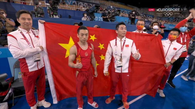 Jocurile Olimpice: Zou Jingyuan, campion olimpic în finala la paralele la Tokyo