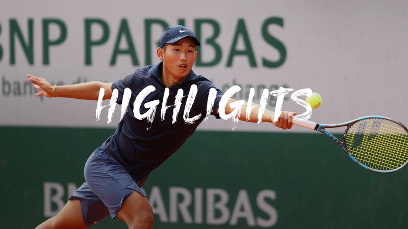 Roland-Garros:  Day 11 - highlights Borg v Shang