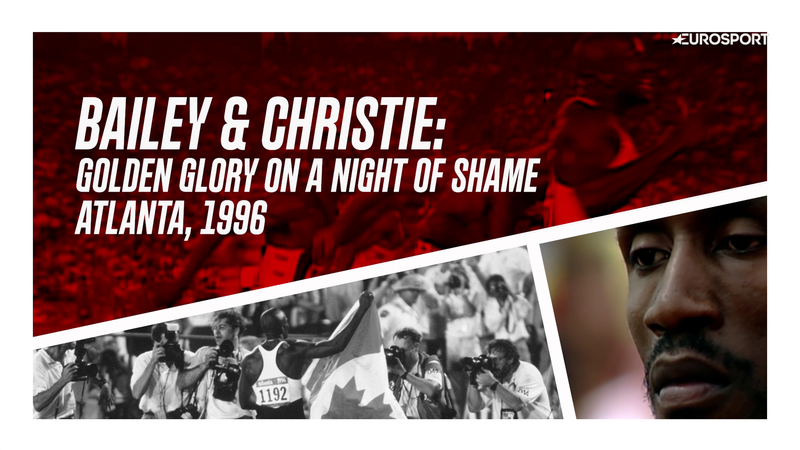 Bailey's golden glory on the night of Christie's meltdown