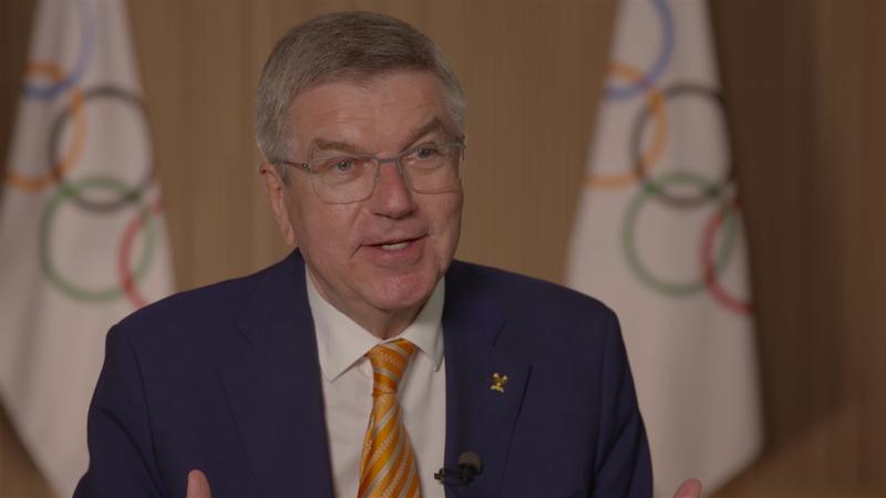 IOC-presidenten ett år før OL: – Vil bli veldig spesielt