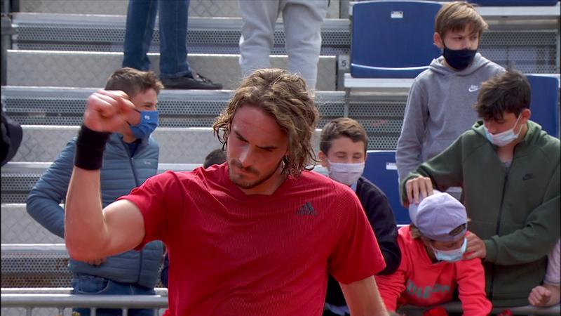 ATP Barcelona: Stefanos Tsitsipas, victorie facilă în optimile de finală cu Alex De Minaur