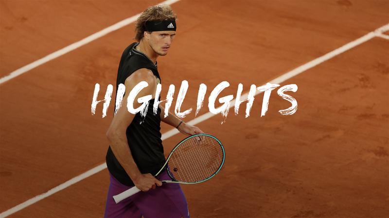 Zverev - Nishikori - Roland-Garros