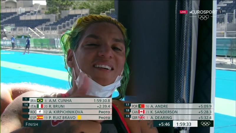 Jocurile Olimpice: Ana Marcela Cunha, campioană olimpică la maratonul de 10km înot în ape deschise