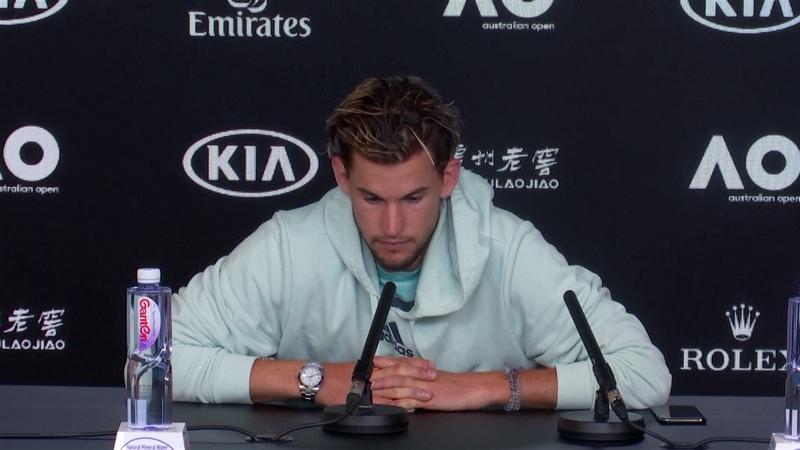 Australian Open:  Thiem's press conference