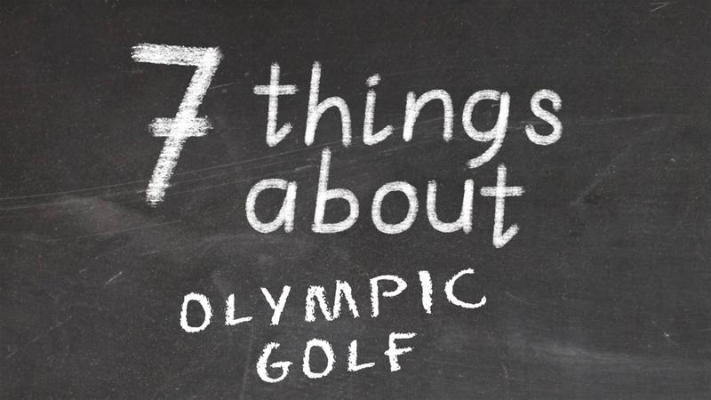 Siete curiosidades sobre el golf olímpico