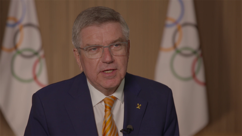 Thomas Bach: Olympic Games can be 'light at end of tunnel'
